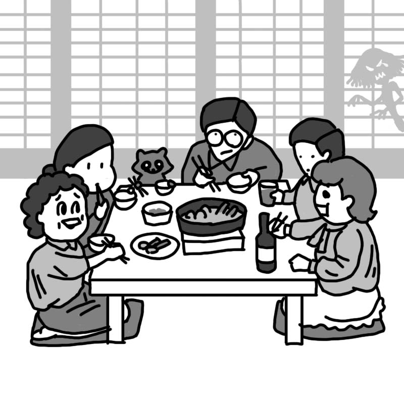 連続タヌキ小説-20